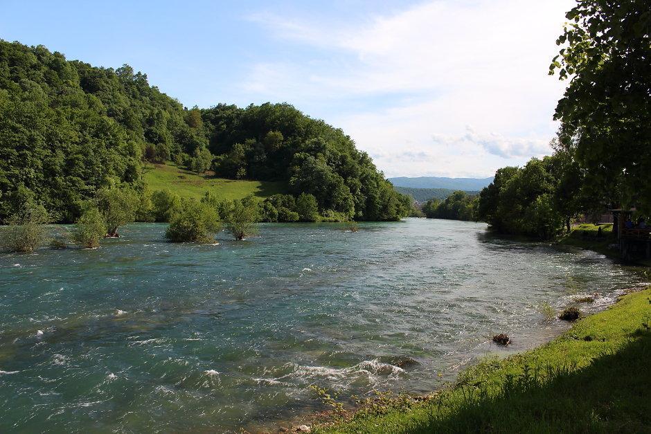 Una near Bosanska Krupa