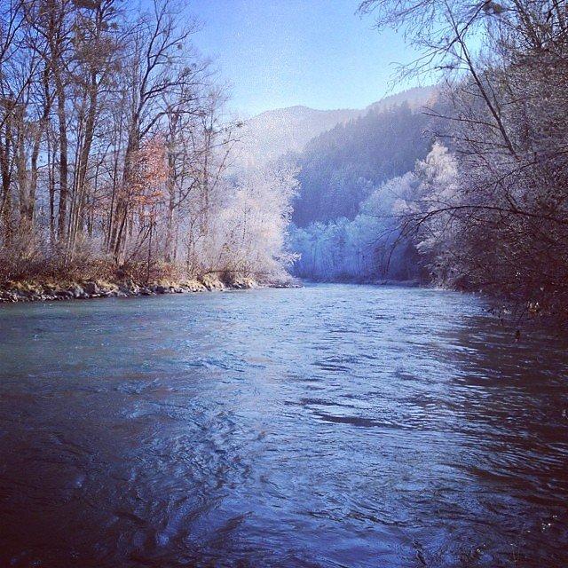 Enns near Pruggern in November