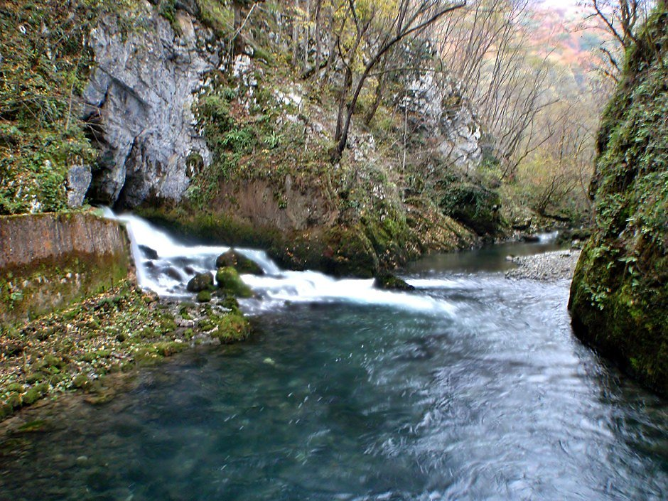 One of the sources of the Sanica river